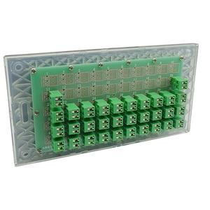 Image 2 - Kc868 스마트 홈 제어 시스템 자동화를위한 32 버튼 키보드 벽 리셋 스위치 모듈 건식 접촉기
