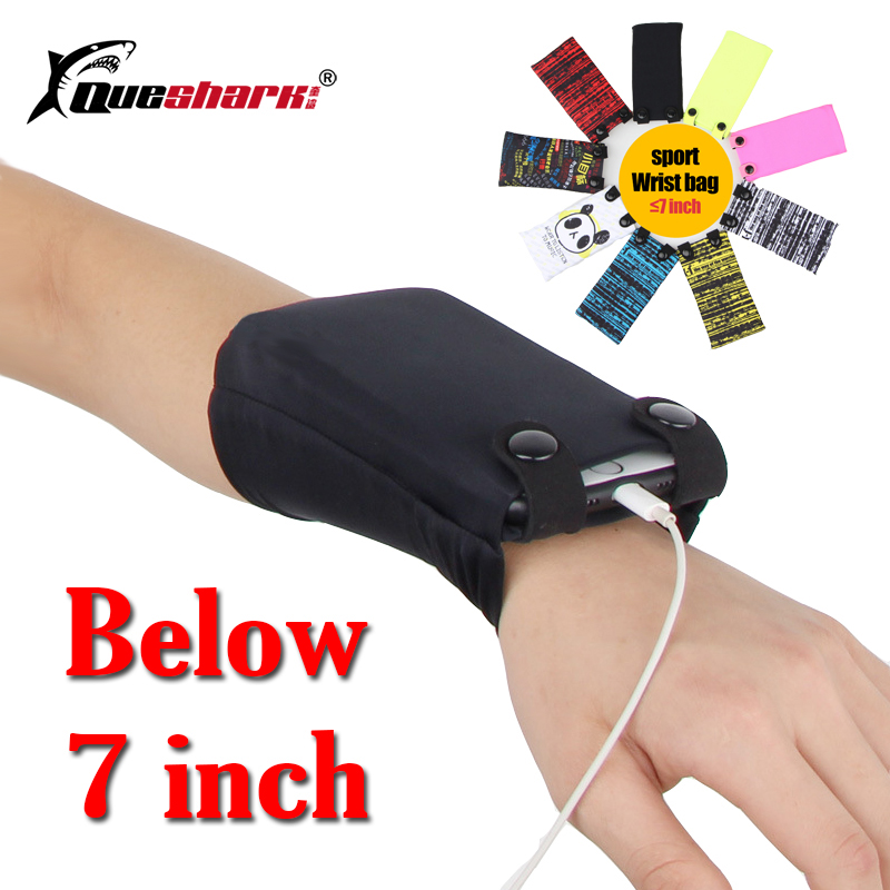 Outdoor Jogging Cycling Gym Sports Wrist Bag Arm Pack For 7-inch Mobile Phone Card Pack Key Handbag Running Arm Bag Phone Pouch
