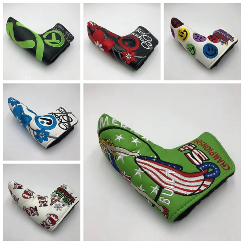 TlTLElST PUTTER HEADCOVER Tour Shop Cameron Champion Ship Scotty Putter HEADCOVERS Putter High Performance Holiday California