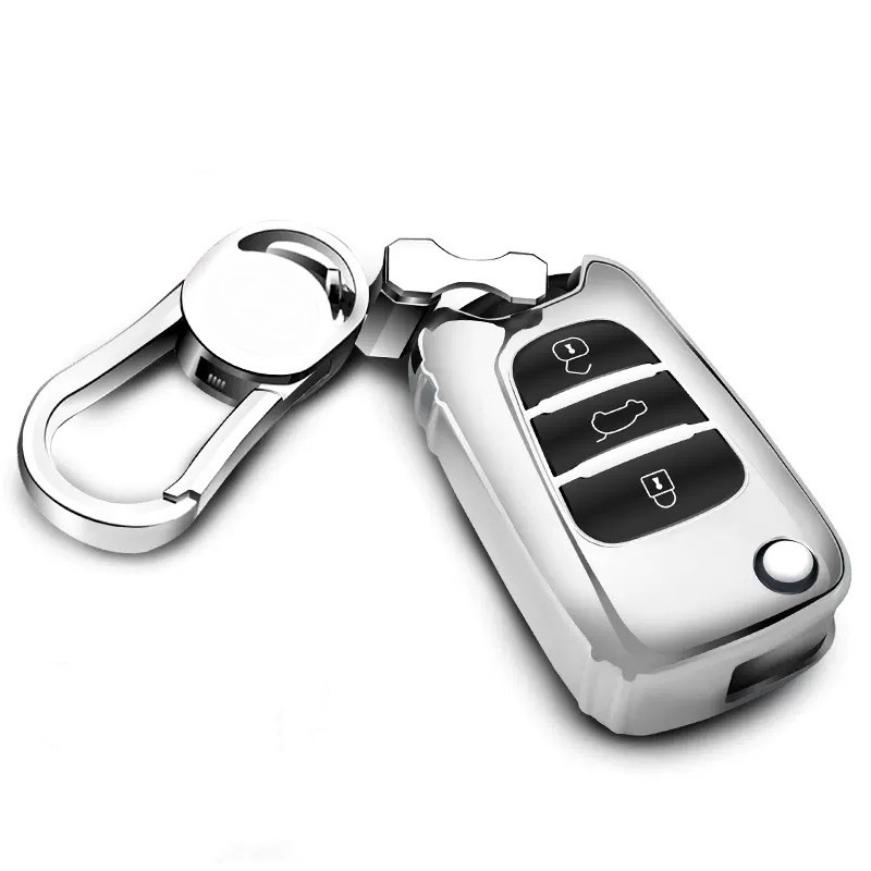 TPU Car Key Case For Hyundai Verna IX35 Sonata Celesta Elantra Auto Key Fob Shell Accessories in Key Case for Car from Automobiles Motorcycles