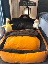 Lit de luxe confortable pour animaux de compagnie, canapé pour chiot, tapis de couchage, coussin pour petit chien, chat, maison, produits pour animaux de compagnie, II50GW