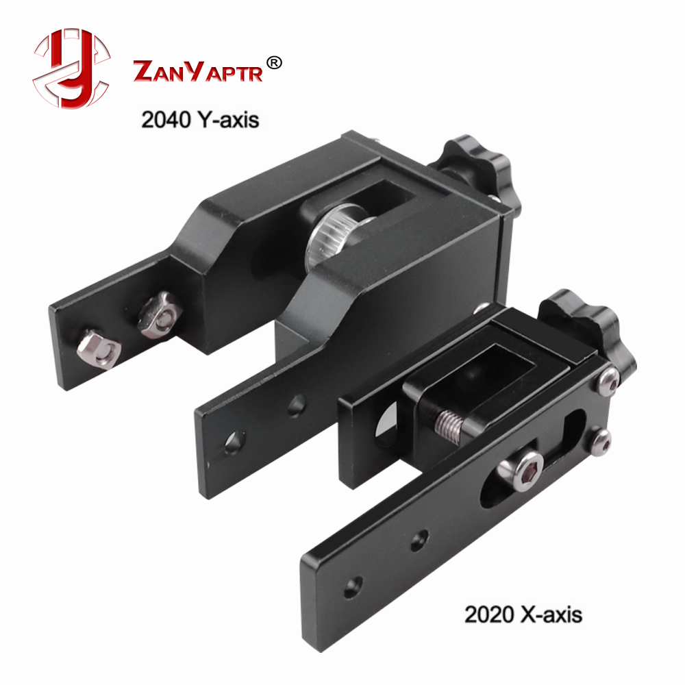 2020 X axis V-Slot profile 2040 Y axis synchronous belt Stretch Straighten tensioner For Creality Ender 3 CR-10 10S 3d printer