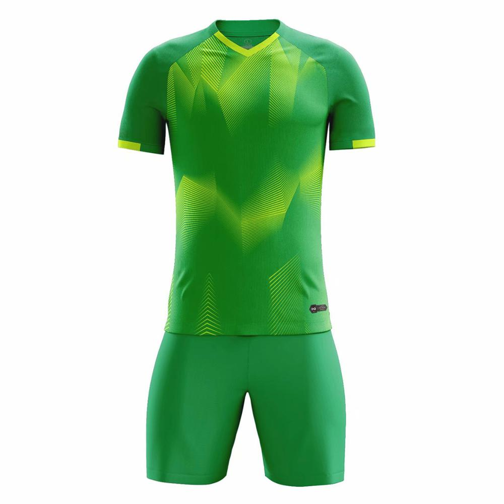 19 20 hombres chicos de alta calidad camisetas de fútbol personalizadas equipo de fútbol uniforme Kit Futsal traje camisa Fitnes in Soccer Sets from Sports Entertainment