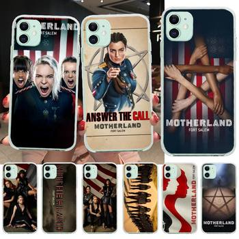 NBDRUICAI Motherland Fort Salem TPU Soft Phone Case Cover for iPhone 11 pro XS MAX 8 7 6 6S Plus X 5S SE XR cover image