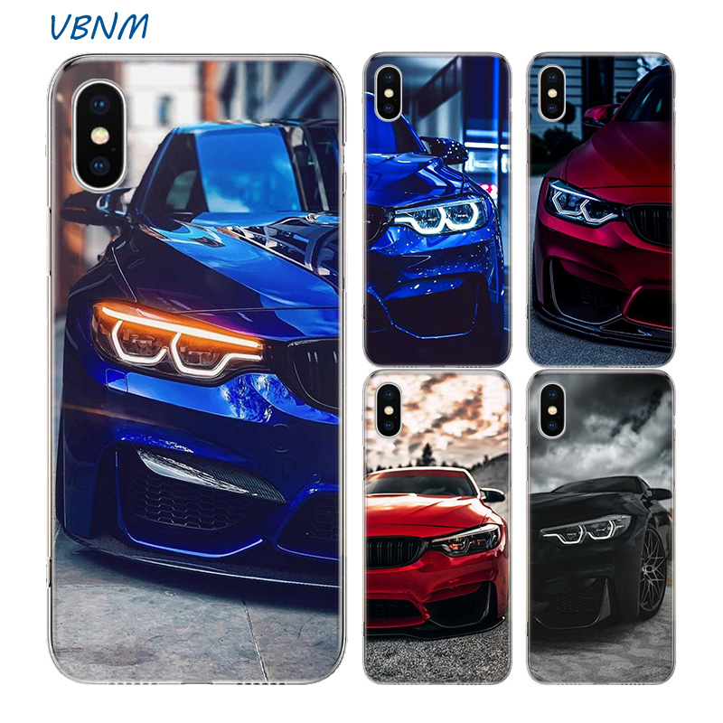 Blue Red <font><b>for</b></font> <font><b>Bmw</b></font> Bags Fundas Silicone Phone Back <font><b>Case</b></font> <font><b>For</b></font> Apple <font><b>iPhone</b></font> 11 Pro 6 6S 7 <font><b>8</b></font> Plus + X 10 Ten XS MAX XR 5 5S SE Cover image