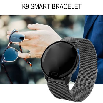 K9 Colorful Screen Smart Bracelet Heart Rate 24H Blood Oxygen Sleep Monitoring Music Control Multi-Motion Information Push Watch image