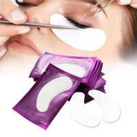 200 paires de patchs de papier d'extension de cils greffés cils autocollants cils sous les coussinets pour les yeux conseils pour les yeux autocollant enveloppes outils de maquillage