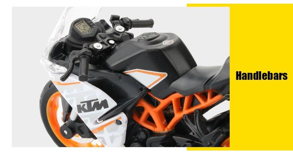 Toy KTM RC 390 Motorbike 11x3x6 cm 46