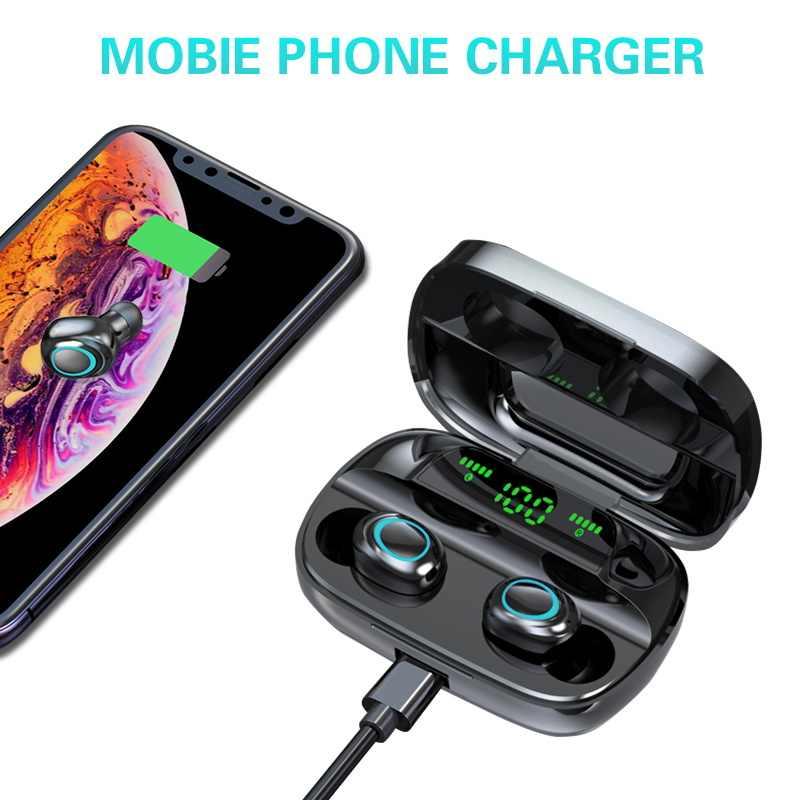 Bluetooth אוזניות עבור Samsung Galaxy S10 5G S10e S9 בתוספת S8 S7 S6 קצה S5 S4 S3 מיני הערה 9 8 5 4 3 2 אלחוטי אוזניות Earbud