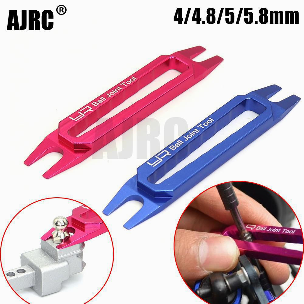 Yeah Racing Aluminum Ball End Remover Tie rod adjustment tool for 4 4.8 5 5.8 6mm Ball End Rc Car Parts