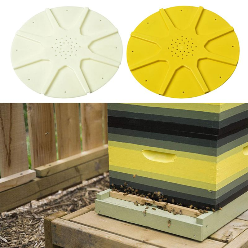 Round 8 Ways Bee Escapes Disc Beehive Door Gate Beekeeping Equipment Beekeeper Tool Au05 19 Dropship