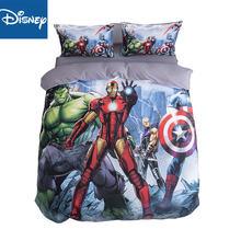 Комплект постельного белья marvel the avengers для детей с двумя