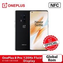 OnePlus – SmartPhone OnePlus 8 Pro 5G, Rom Global, boutique officielle, Snapdragon 865, 8 go 128 go, écran fluide 120Hz, charge sans fil 30W; Code français: SUPERDEALSFR14(€100-14),SUPERDEALSFR07(€50-7)
