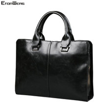 Men's Business office Briefcase Computer Laptop Handbag male