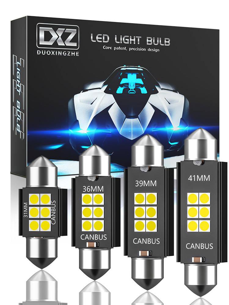 Dome Light Led-Bulbs 3030-Chip Interior C5w C10w 36MM No-Error Festoon-31mm Canbus 39MM