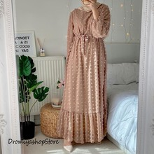 Islamic-Clothing Abaya Muslim Dress for Women Dubai Kaftan Oman Robe Ropa-Musulmana Para