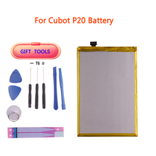 For Cubot X18 Plus Battery 4000mAh High Capacity Replacement Backup Battery For Cubot P20 Battery Phone free Tools free shipping for original cubot p6 phone rear back camera for cubot p6 phone repair parts replacement in stock tracking number