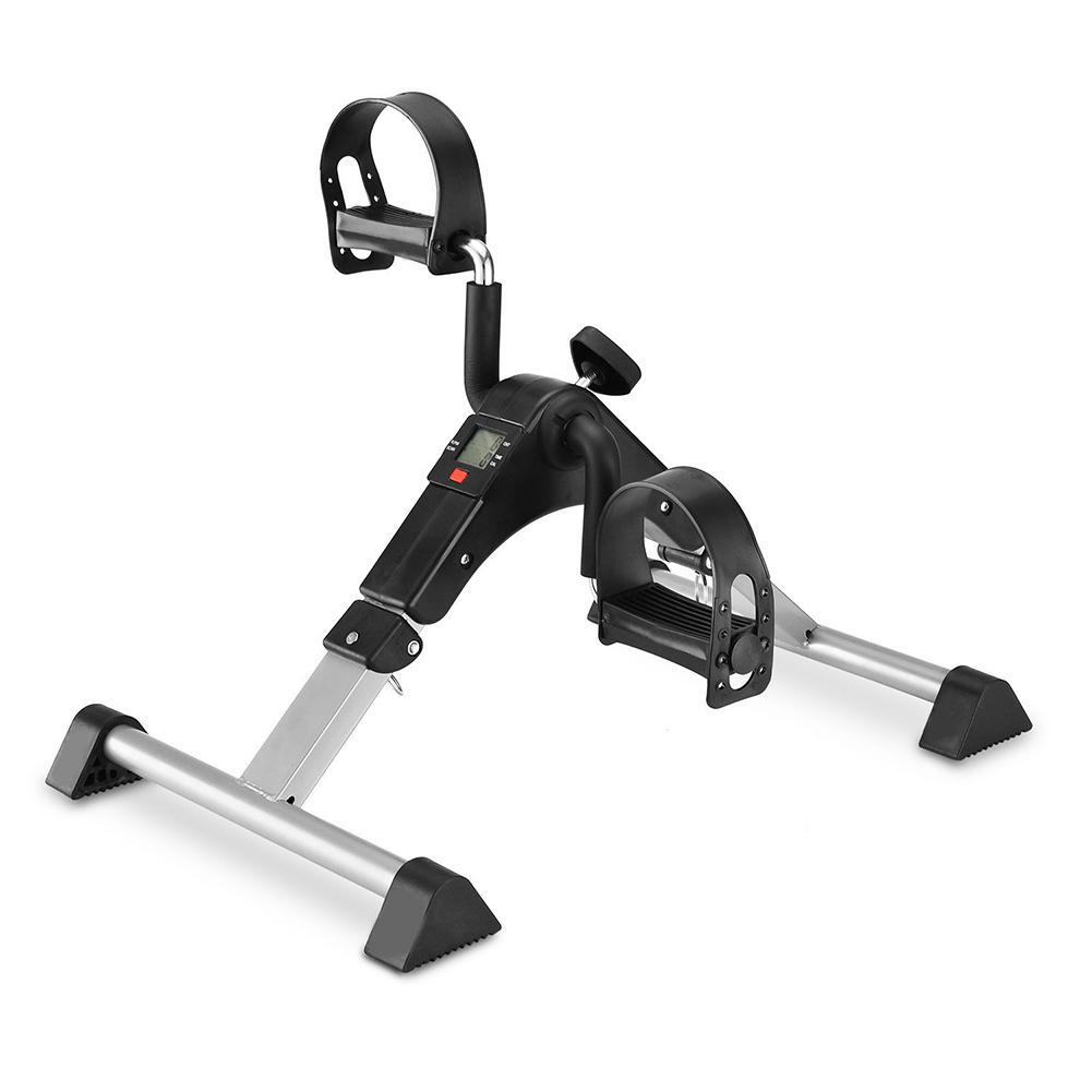 Велотренажер с регулируемым сопротивлением с ЖК монитором оборудование для фитнеса машина для ног для дома для пожилых людей восстановлен...