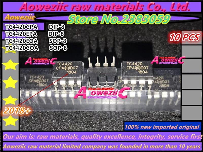 2018+ 100% New Imported Original  TC4420 TC4420EPA TC4420CPA DIP-8 TC4420EOA TC4420E0A TC4420COA TC4420C0A  SOP-8  Driver Chip