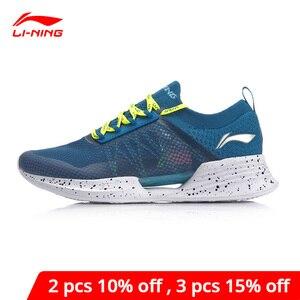 Image 1 - Li Ning Men CLOUD COOL Cushion Running Shoes PROBAR LOC Breathable Mono Yarn LI NING li ning CLOUD Sport Shoes ARHP031 XYP924