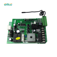 Sliding gate opener motor control unit PCB controller circuit board electronic card for KMP series galvanized steel gear rail rack for sliding gate opener one meter per unit with three mounting bolts gate zipper