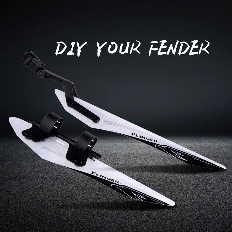 Hot Sale Mountain Bicycle Fender Bike Mudguards E Bike Fender Front Rear Quick Release DIY Fender Sets