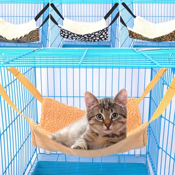 Cat Sleeping Bag Mat Hanging Hammock Cat Bed House Kitten Hammock Cat Thicken Warm Cotton Nest Hanging Sleeping Bag Pet Supplies image