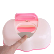 Plastic Wet Tissue Box Storage Container Refillable Container For Baby Wipes цена и фото