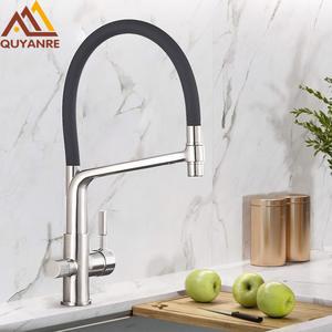 Lyty en acier inoxydable Distributeur de boisson Spigot//robinet//robinet finition inox bross/é, Valve en c/éramique