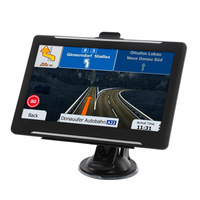 7 Inch Car Capacitive Screen GPS Navigator HD FM 8G 256M MP3/MP4 Player Driving Voice Navigator