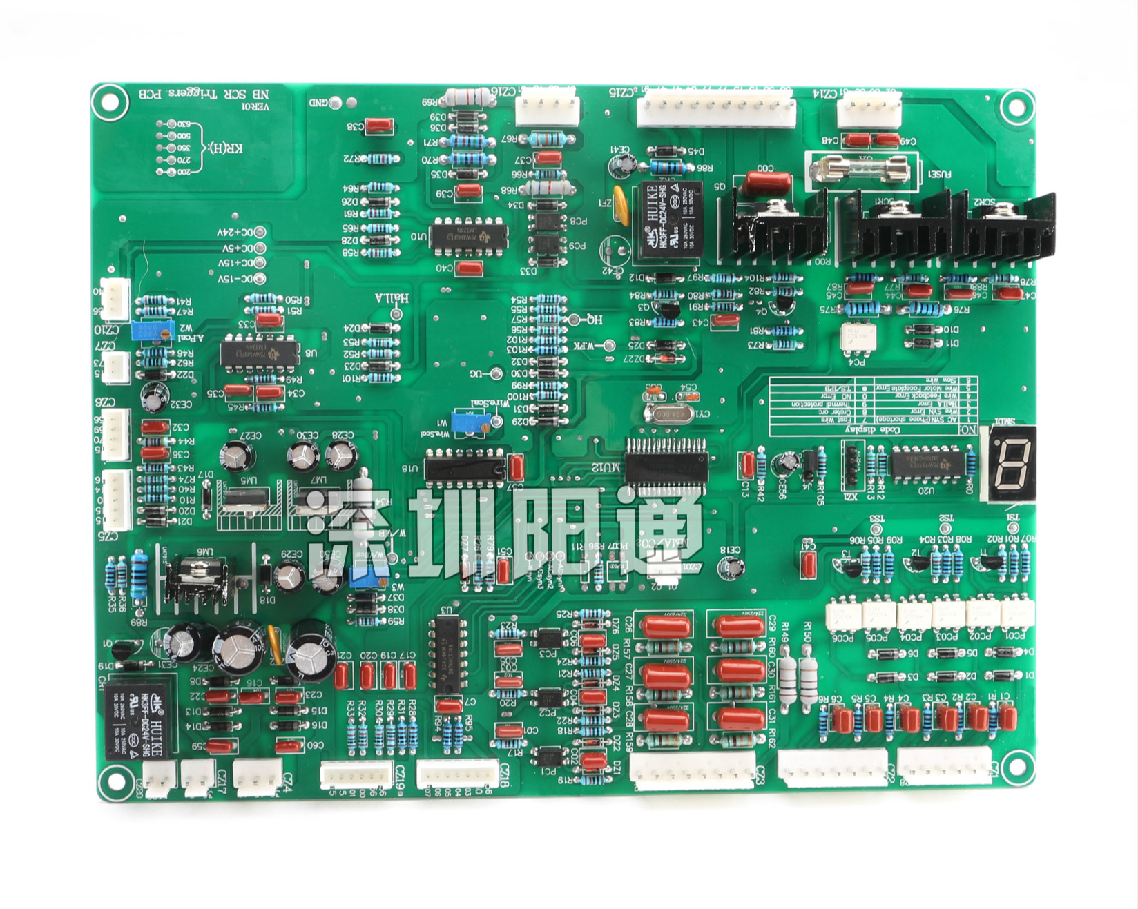 KR/KH/NBC-350/500/630 Thyristor Thyristor Gas Shielded Welding Machine Control Circuit Board Mainboard