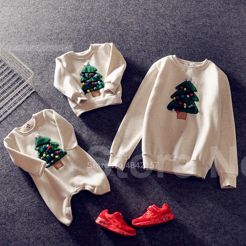 Новинка года; Рождественские свитера для всей семьи; 19 цветов; рождественские худи; пижамы; теплый свитер с вышивкой Санта-Клауса и лося; подарок для взрослых и детей - Цвет: Color7