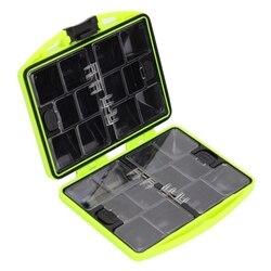 24 przegródki do przechowywania wahadłówka małe plastikowe pudełko pudełka wędkarskie dla haki na przynęty akcesoria wędkarskie