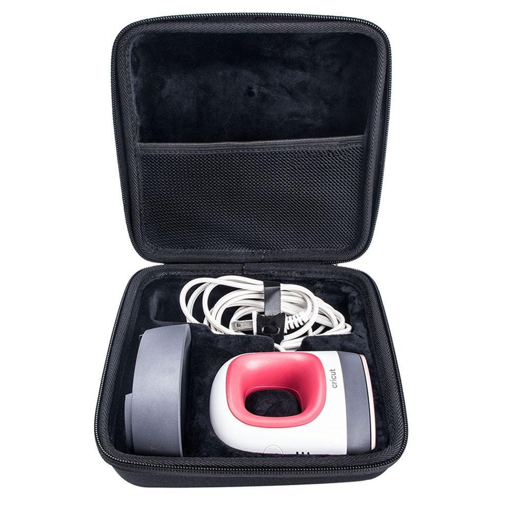 Жесткий переносной чехол EVA, Портативная сумка для хранения для Cricut, легко нажимаемый мини-термопресс и подставка для путешествий, защитный ...