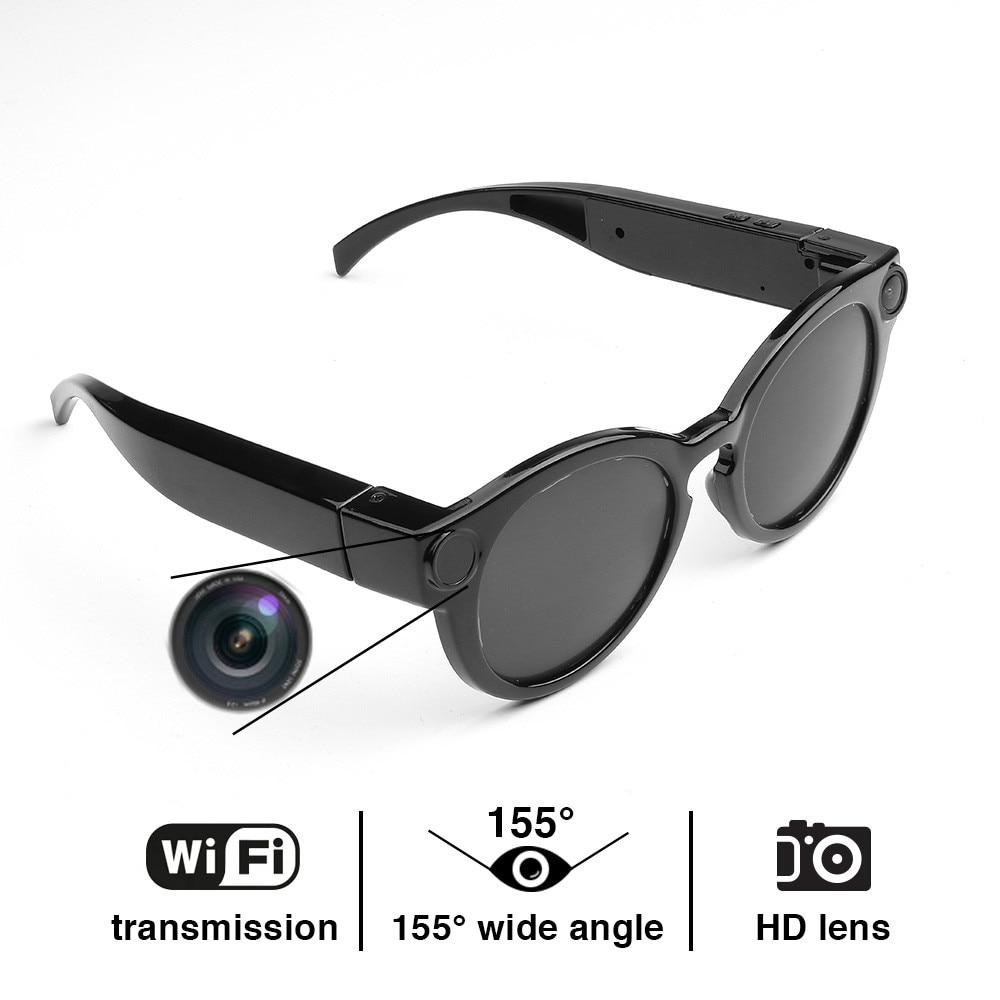HD 1080P Micro Video Camera Glasses Eyewear Camcorder Detachable Glasses Spy Cam