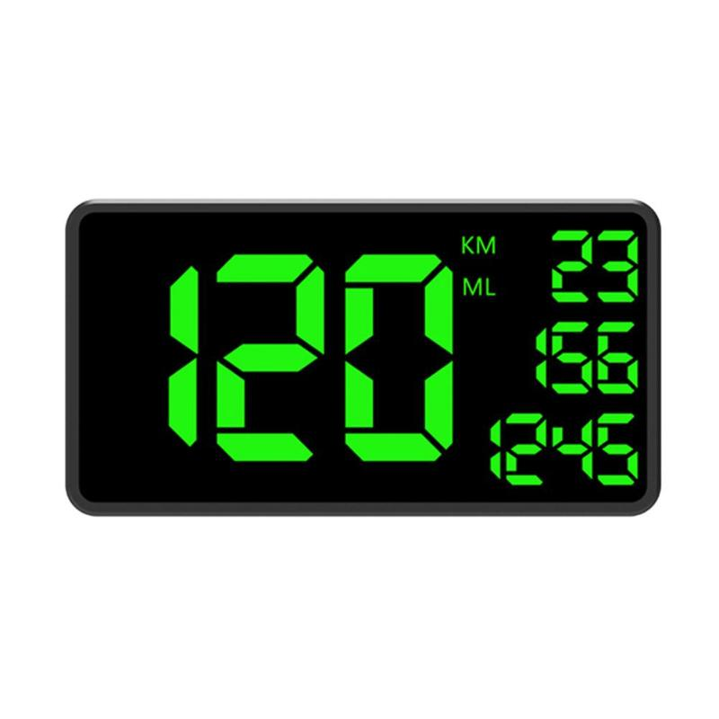 VODOOL C1090 GPS Speedometer Hud Display KM/h MPH Car HUD Head Up Display C60 C80 C90 Large Screen Speed Meter Overspeed Warning