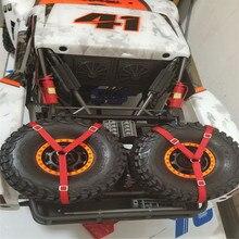 1 Uds. Hebilla de cuerda de vendaje para traxxas UDR Unlimited desierto Racer TRX4 Bronco RC cinturón de neumáticos de coche