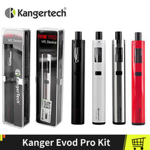 100% Original KangerTech EVOD Pro Kit With 4ml Top Flling CLOCC Tank All in One Kanger Starter Vape E-cigs Kit цена