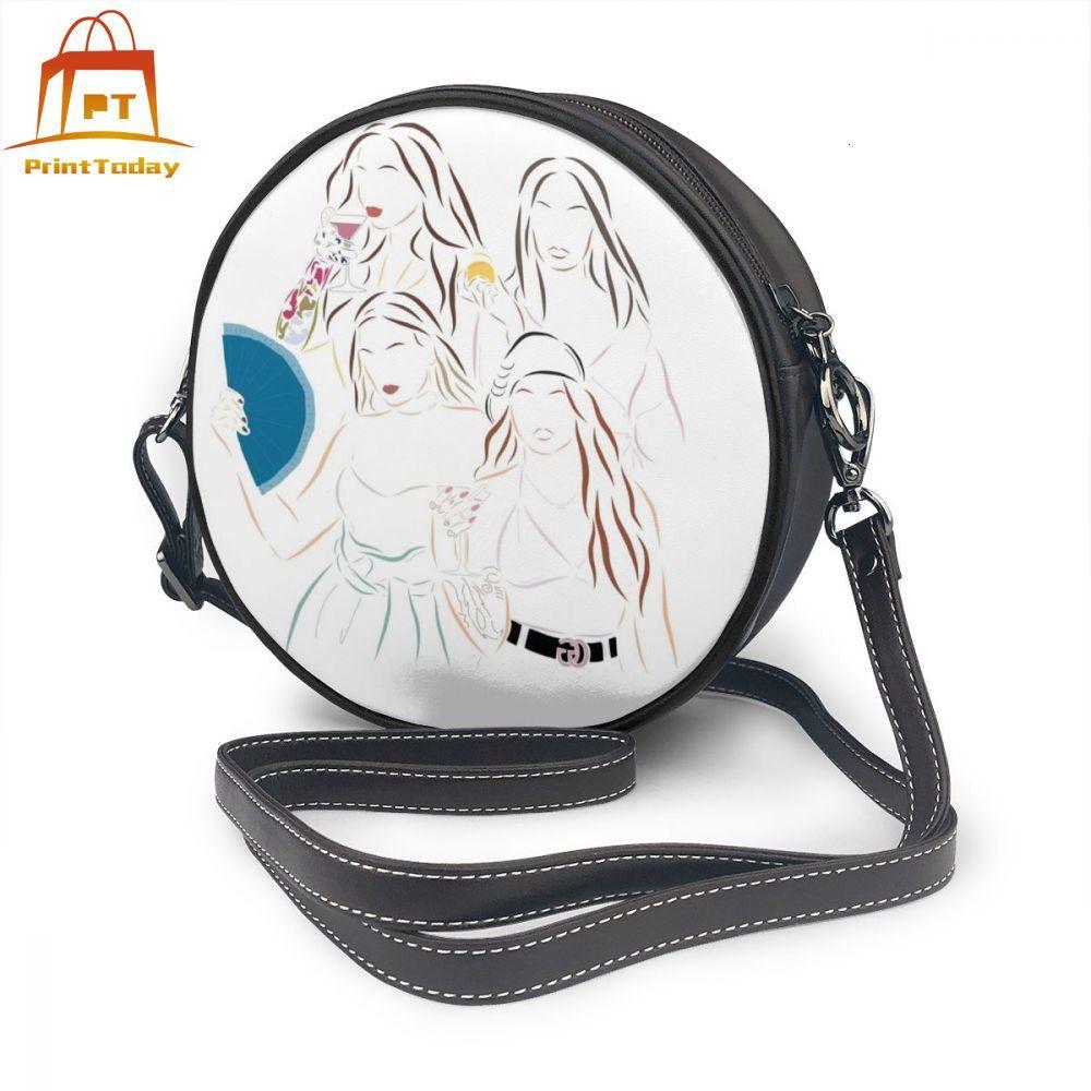 3 Piece Set Multiple Pocket Crossbody Shoulder Handbag Microfiber