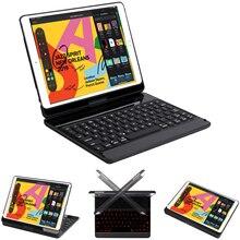 backlit case For iPad 10.2 inch 7th Gen2019 case keyboard, For iPad air 3 2019 & iPad Pro 10.5 2019 smart 360 rotatable keyboard
