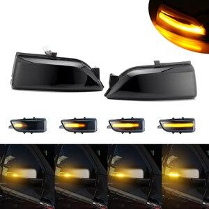 Image 5 - עבור פורד אוורסט 2015 2019 טווח רובר T6 2012 2019 Raptor Wildtrak LED דינמי הפעל אות אור צד מראה מחוון נצנץ