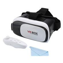 VR Box 2.0 and Controller Glasses Virtual Reality Diffraction Pixel Game Gafas De Realidad Para for Iphone