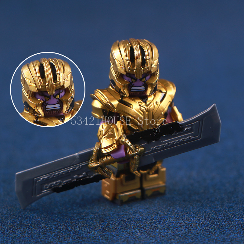 Store Customized Version Holding A Weapon Thanos Toys