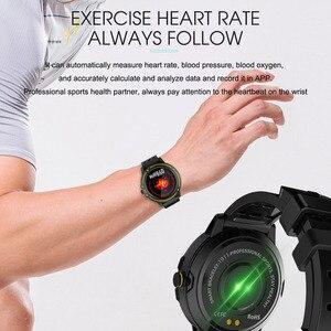 Image 3 - Reloj inteligente V5 para hombre, dispositivo resistente al agua, con control del ritmo cardíaco y de la presión sanguínea, Monitor de sueño y seguimiento de actividad/deporte, podómetro
