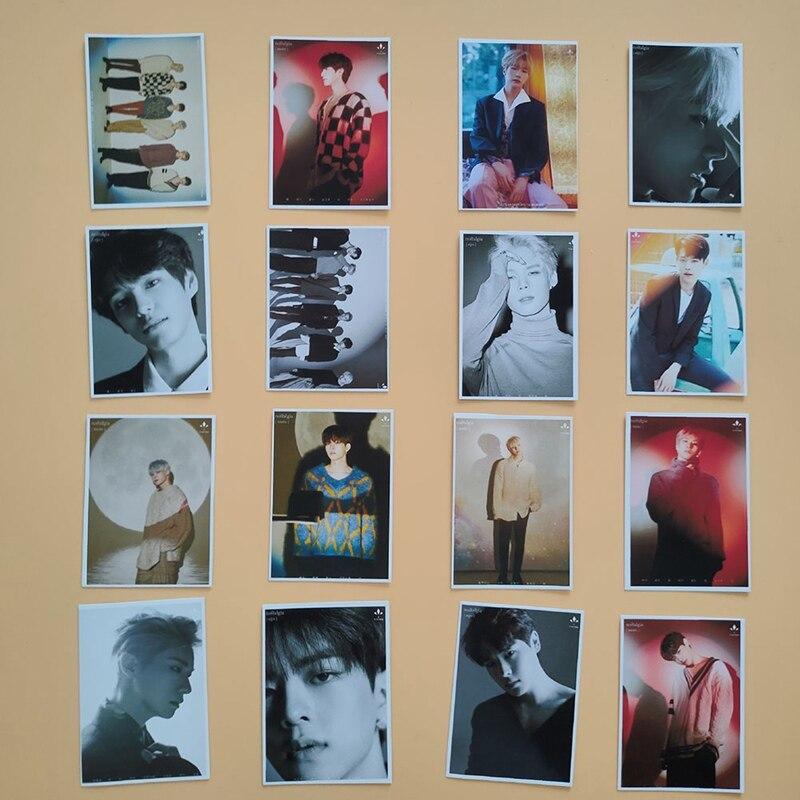 K-pop VICTON LOMO Card New Album Nostalgia Han Seung Woo QUANTUM LEAP Photocard Picture Card