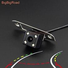 цена на BigBigRoad Car Intelligent Dynamic Trajectory Tracks Rear View Camera For Volvo S40 S40L S60 S80 XC90 XC60 V60 S80L S60L V40 V50