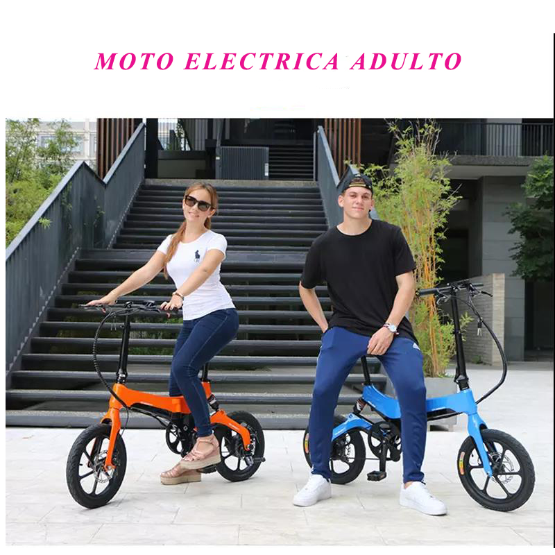 <font><b>e</b></font> bike16inch 250W mini electric bicycle fat mountation snow electric bikes Aluminum Lithium Battery <font><b>motorcycle</b></font> image