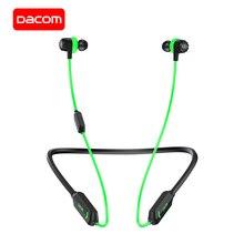 DACOM GH02 ไร้สายหูฟัง Apt X หูฟังบลูทูธ RGB ไฟ 3D หูฟังสเตอริโอหูฟังไมโครโฟนในตัวสำหรับ iPhone Samsung