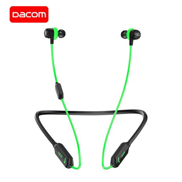 DACOM GH02 אלחוטי אוזניות Apt x Bluetooth אוזניות RGB אורות 3D סטריאו מוסיקה אוזניות מובנה מיקרופון עבור iPhone סמסונג