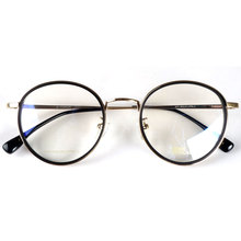 Round fashion spectacles eyeglasses frames Japan for myopia/reading